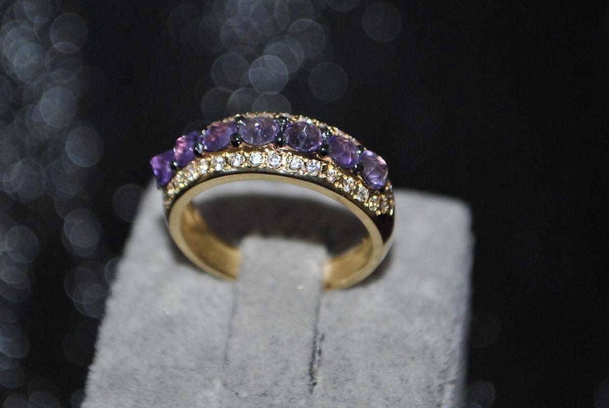 3D ring reverse gems