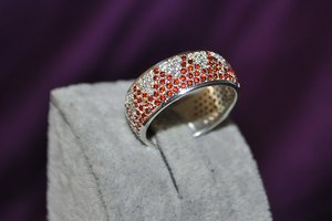 3D ring gems matrix