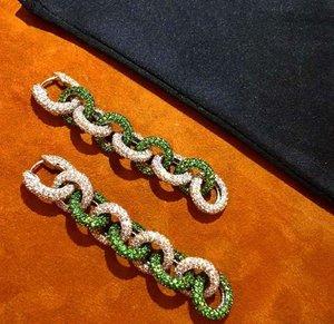 3D model chain earrings