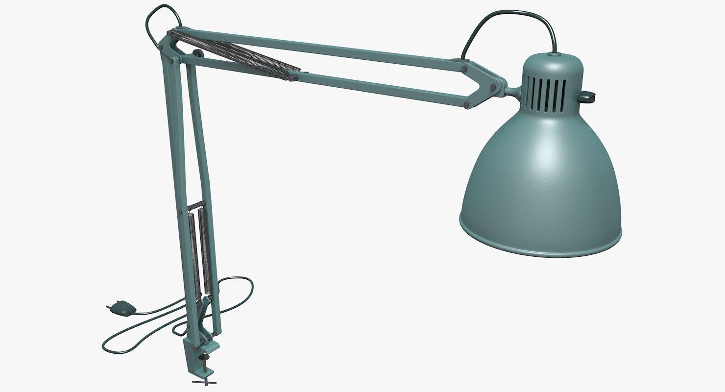 3D luxo lamp lights