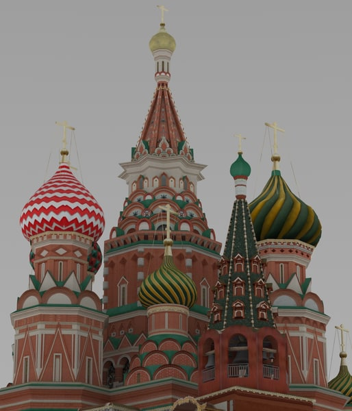 saint basil s cathedral 3D model