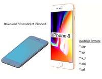 3D phone 8 -