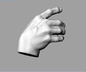 hand grasp 3D
