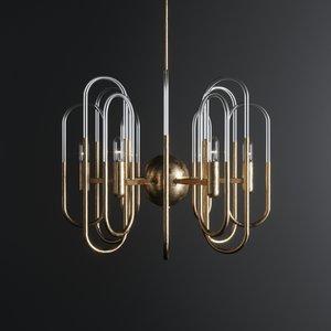 design chandelier gaetano sciolari 3D model