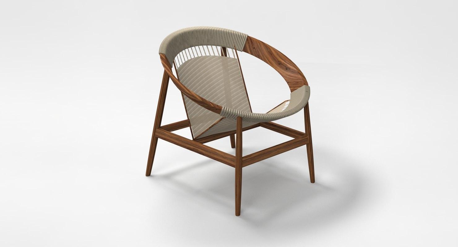 3D ringstol chair