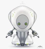cartoon pirate bot 3D