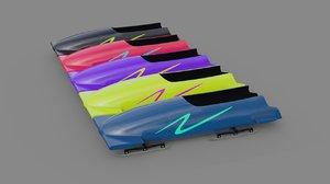 bobsleigh 1 3D model