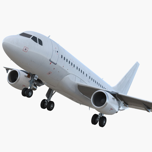 airbus a318 generic rigged 3D model