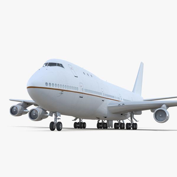 boeing 747-100b generic model