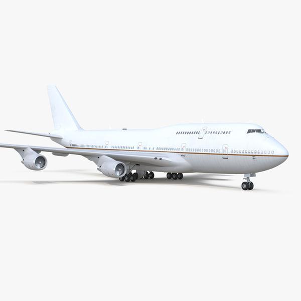 3D boeing 747-400er generic model