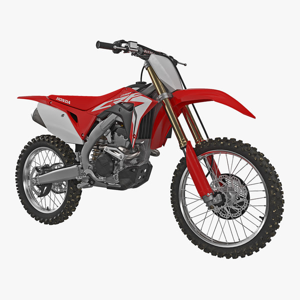 3D competition motorcycle honda crf250r