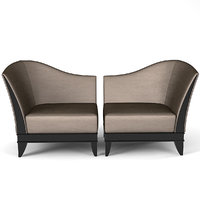 vendome selva armchair 3D model