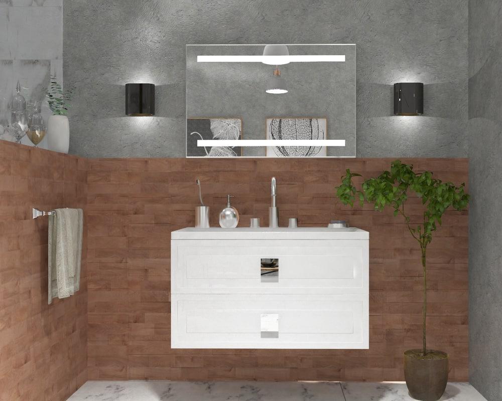 3D bathroom furniture neo model