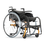 3D model wheelchair ortonica s3000