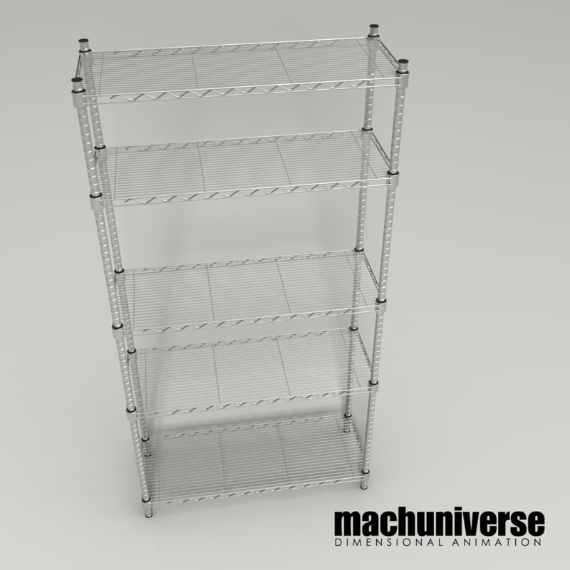 3D bakers rack