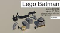 3D lego batman