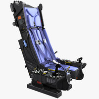 Ejection Seat with Instrument Boards