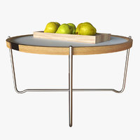 hans wegner tray table 3D model