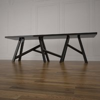 ubud bench 3D model