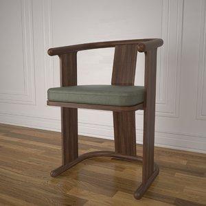 jing chair 3D model