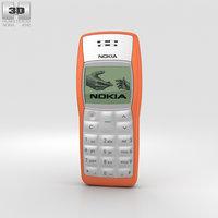 3D nokia 1100 orange
