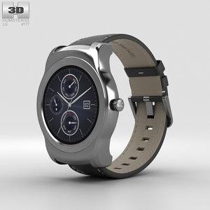 3D lg urbane watch