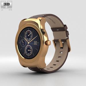 lg urbane watch 3D