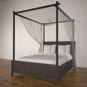 poster bed 3D