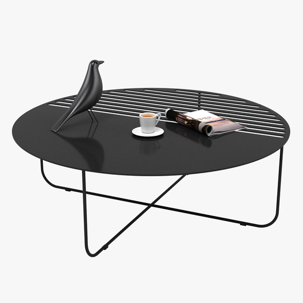 3D table realistic model