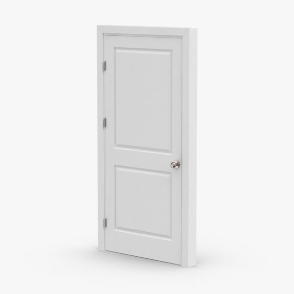 3D interior-doors---door-1-closed