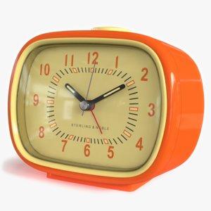 alarm clock 3D model
