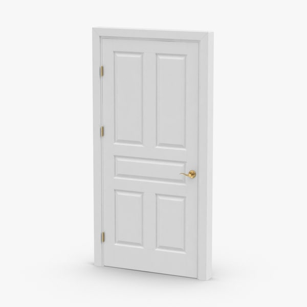 3D interior-doors---door-4-closed