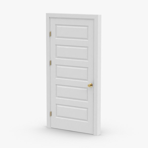 3D interior-doors---door-5-closed