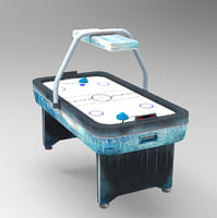 air hockey table model