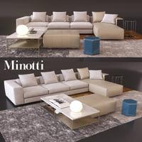 Freeman Minotti sofa
