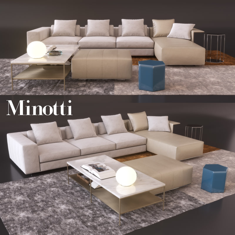 Sofa Freeman 3D