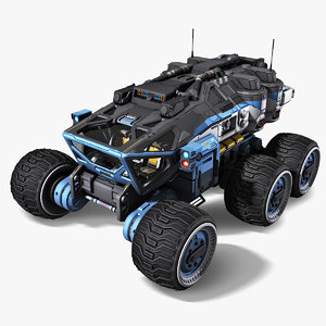 3D vehicle model