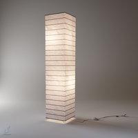 paper lamp 3D model