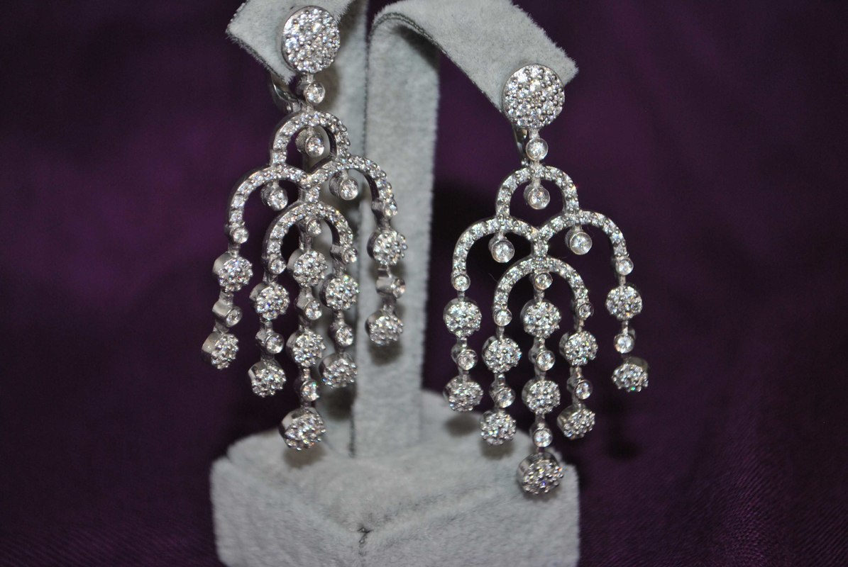 earrings gem matrix model