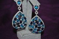 earrings gem matrix 3D model