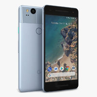 google pixel 2 kinda 3D model