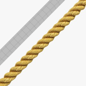 3D rope tiled