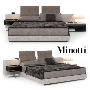 bed yang 3D