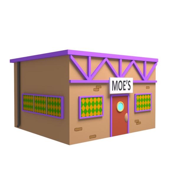 moe s tavern 3D model