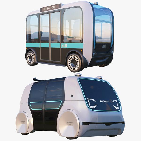 olli bus cedric 3D model