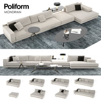 Mondrian Poliform sofa