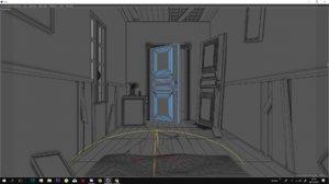 3D model resident evil