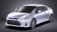 3D 2016 scion tc model