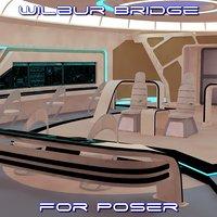 bridge poser 3D model