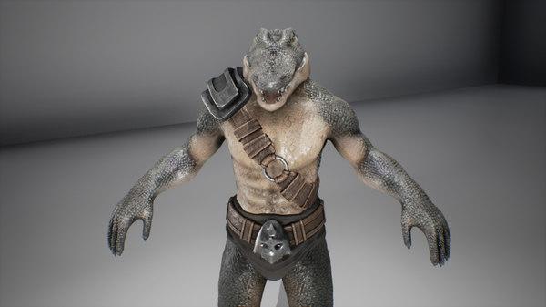 character shield 3D